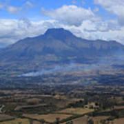 Communities Around Mount Imbabura Poster