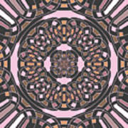 Complex Geometric Abstract Poster