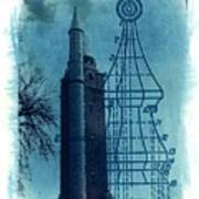 Compton Blueprint Poster