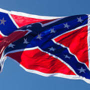 Confederate Flag 4 Poster