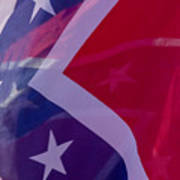 Confederate Flag 6 Poster