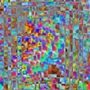 Confetti Cloud Poster