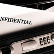 Confidential Documents Poster