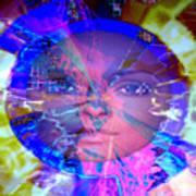 Congo Queen Mandala Poster