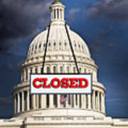Congress Closed. Poster