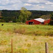 Connecticut Farm Poster