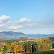Connecticut Scenic Vista Poster