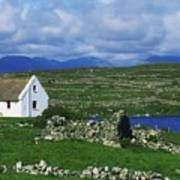 Connemara, Co Galway, Ireland Cottages Poster