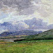 Connemara Mountains Poster