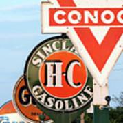 Conoco Sign 081117 Poster