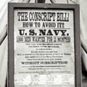 Conscript Bill  Poster