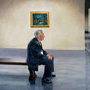 Contemplating Van Gogh Poster