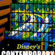 Contemporary Window To The World Poster