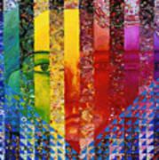 Conundrum I - Rainbow Woman Poster