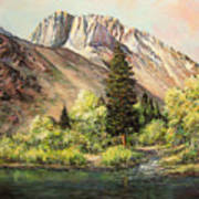 Convict Lake In May Poster