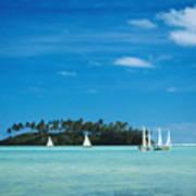 Cook Islands, Rarotonga Poster
