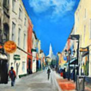 Cook Street   Cork Ireland Poster