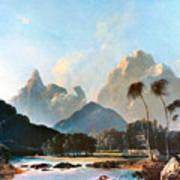 Cook: Tahiti, 1773 Poster