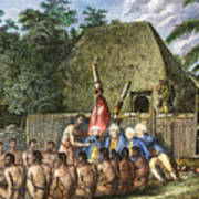 Cook:sandwich Islands 1779 Poster