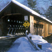 Coombs Winchester Covered Bridge Poster