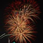 Coors Field Fireworks 4 Poster