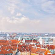 Copenhagen City Denmark Poster