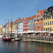 Copenhagen Harbor Poster