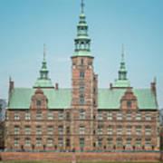 Copenhagen Rosenborg Castle Back Facade Poster