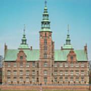 Copenhagen Rosenborg Castle Facade Poster