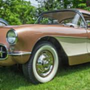 Copper 1967 Corvette  Poster