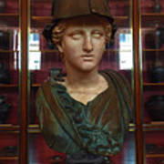 Copper Bust In Rome Poster