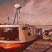 Copper Harbor Waterfront Poster