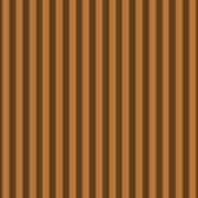 Copper Orange Striped Pattern Design Poster