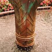 Copper Water Fountain Poster