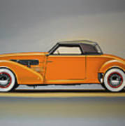 Cord 810 1937 Painting Poster