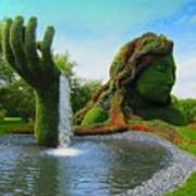 Corey Rockafeler - Mother Nature Fountain Poster