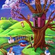 Corgis Bodacious Spring Fling Poster