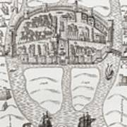 Cork, County Cork, Ireland In 1633 Poster