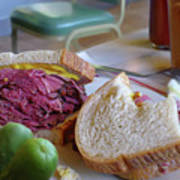 Corned Beef On Rye Poster
