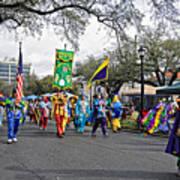 Corner Club 4 - Mardi Gras New Orleans Poster