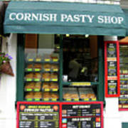 Cornish Pasty Shop Poster