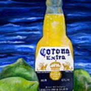 Corona Poster by Patti Schermerhorn