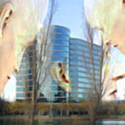 Corporate Cloning Poster by Kurt Van Wagner