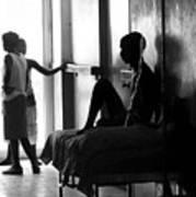 Corridor Of Haitian Hospital Poster