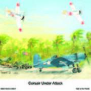 Corsair At The Ready Poster