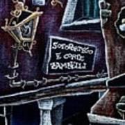 Corte Zambelli - Contemporary Venetian Artist Poster