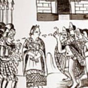 Cortes & Montezuma, 1519 Poster