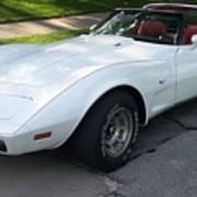 Corvette 1 Poster