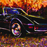 Corvette Beauty Poster