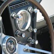 Corvette Console Poster